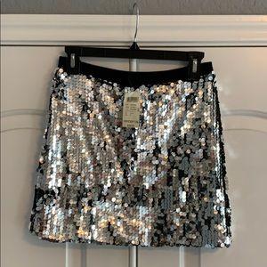 NWT arden b paillette party sequin mini skirt